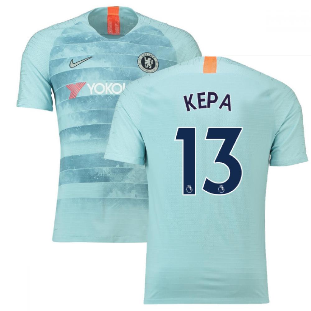 newest f07ac e7252 2018-19 Chelsea Third Football Shirt (Kepa 13) - Kids