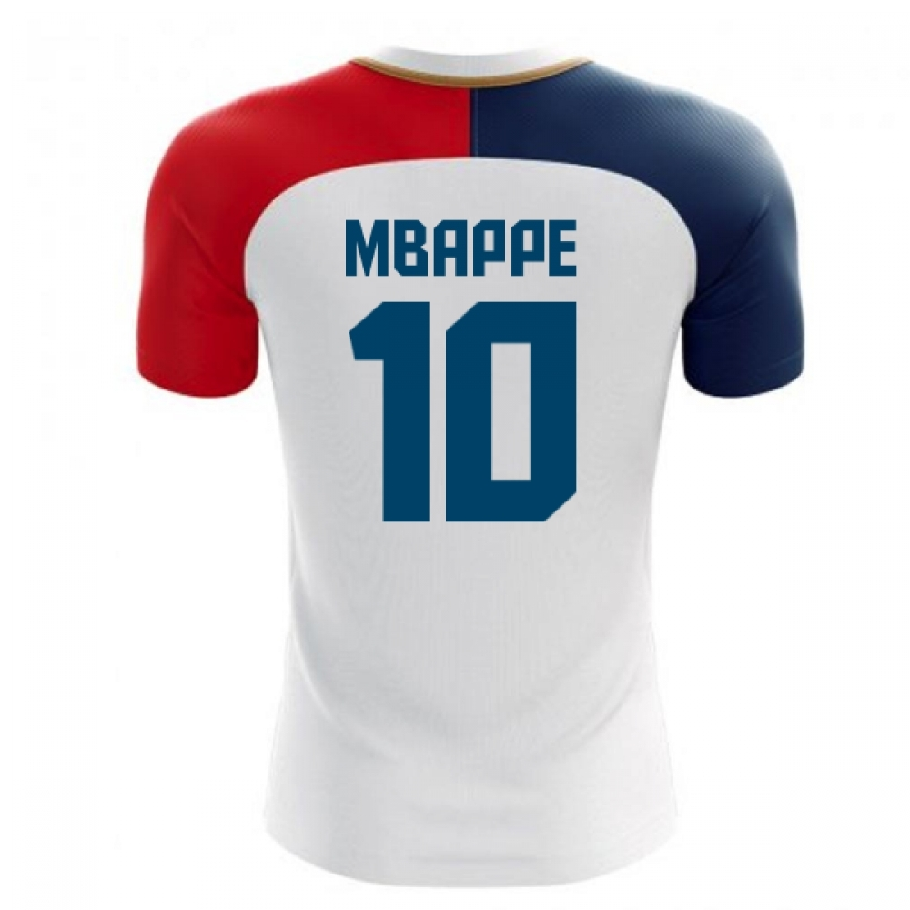the latest 3c09c 6228e 2018-19 France Away Concept Shirt (Mbappe 10)