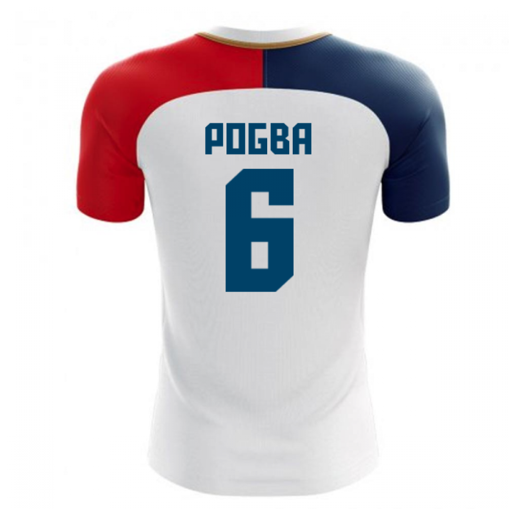 quality design 6f798 df55d 2018-19 France Away Concept Shirt (Pogba 6)