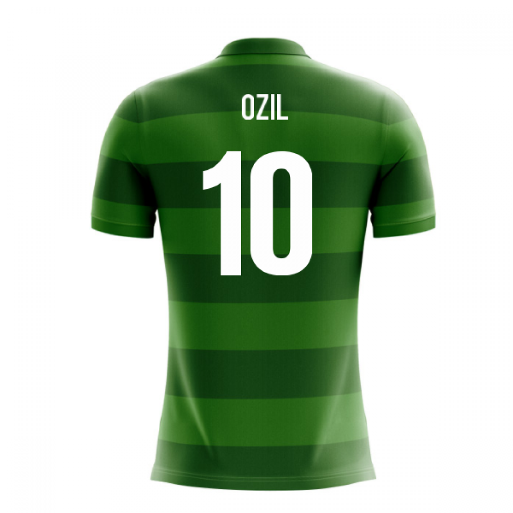 online store 74695 fac50 2018-19 Germany Airo Concept Away Shirt (Ozil 10)