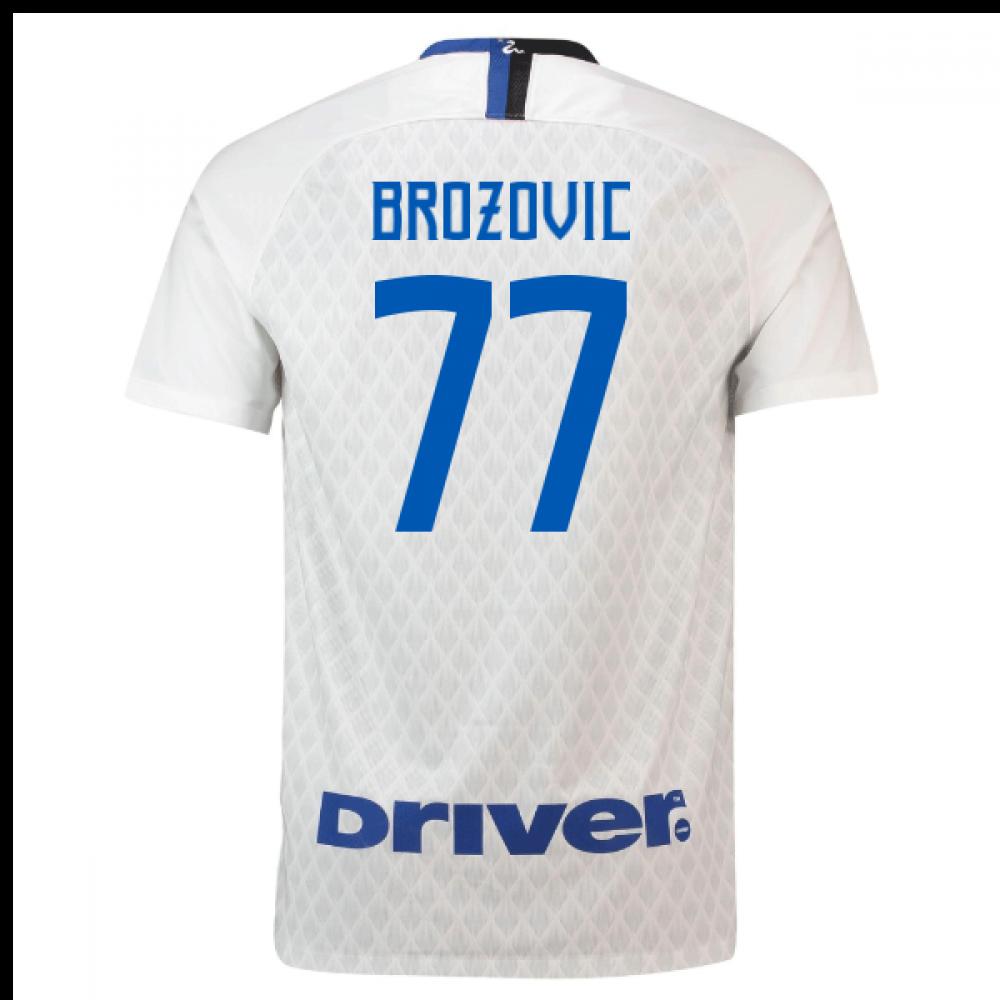 low priced 9d121 43d6b 2018-19 Inter Milan Away Shirt (Brozovic 77)