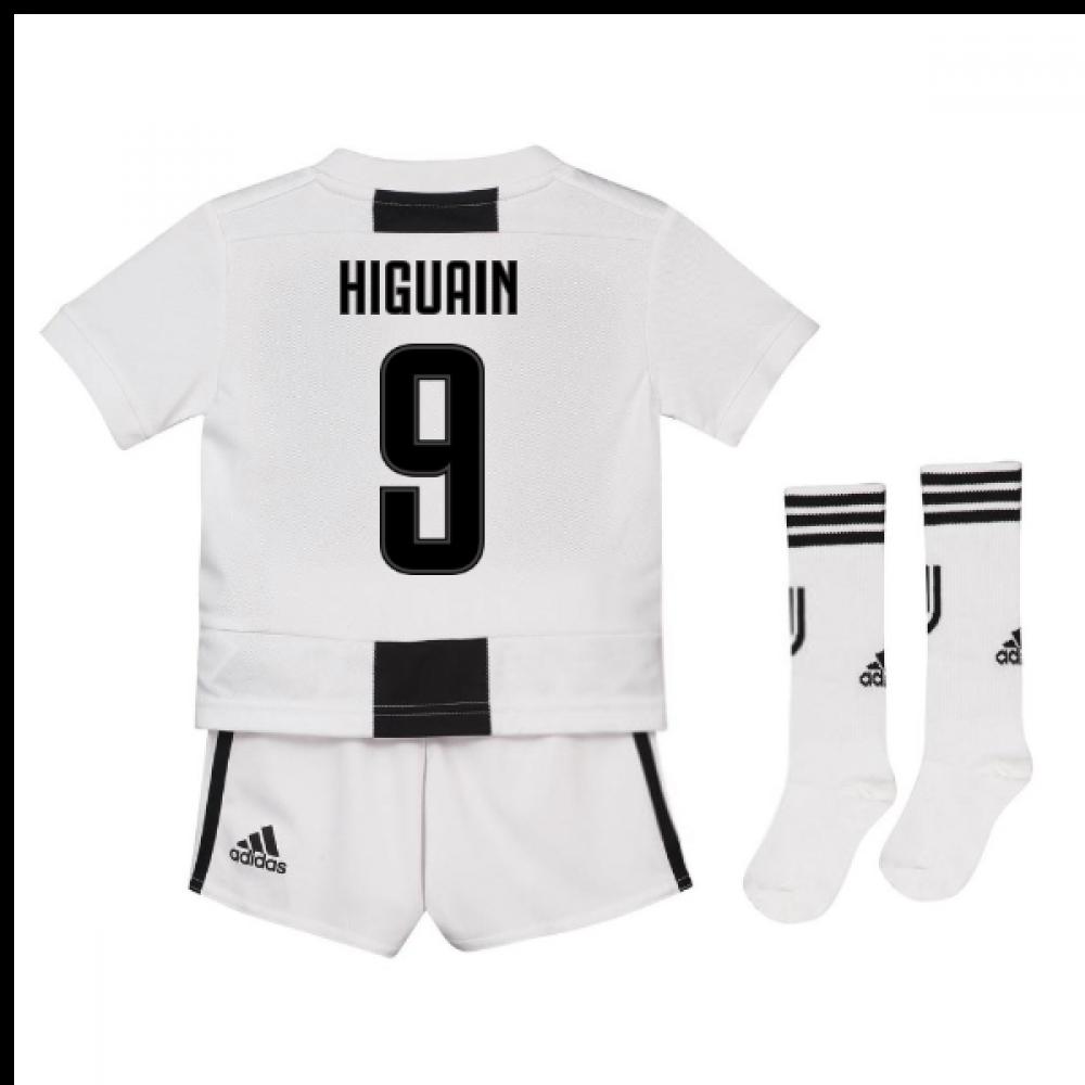 info for ecdf1 29d10 2018-19 Juventus Home Mini Kit (Higuain 9)