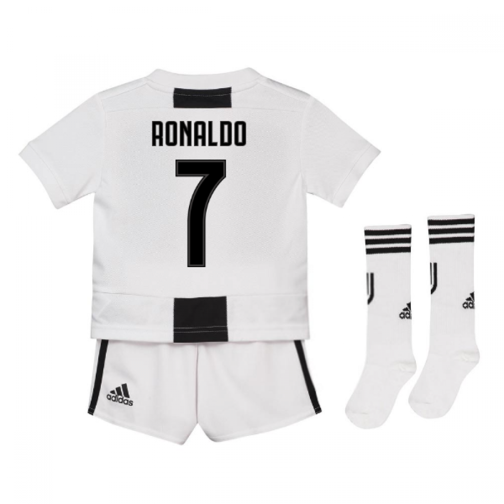 online store e5ab4 fb48e 2018-19 Juventus Home Mini Kit (Ronaldo 7)