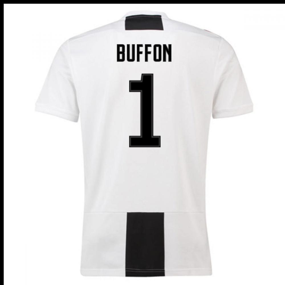 e41777cc970 2018-19 Juventus Home Shirt (Buffon 1) - Kids  CF3496-112097 ...