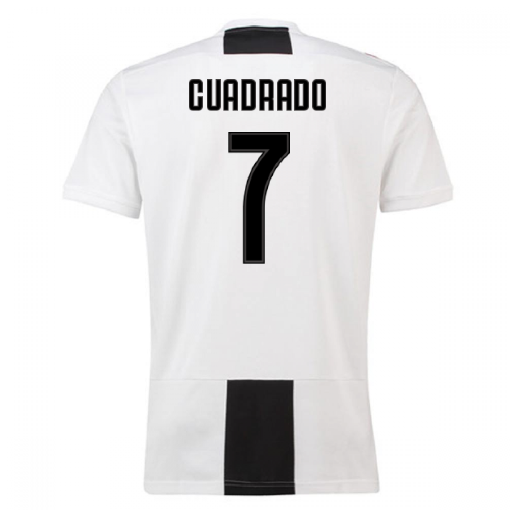 timeless design 51679 4ca73 2018-19 Juventus Home Shirt (Cuadrado 7)
