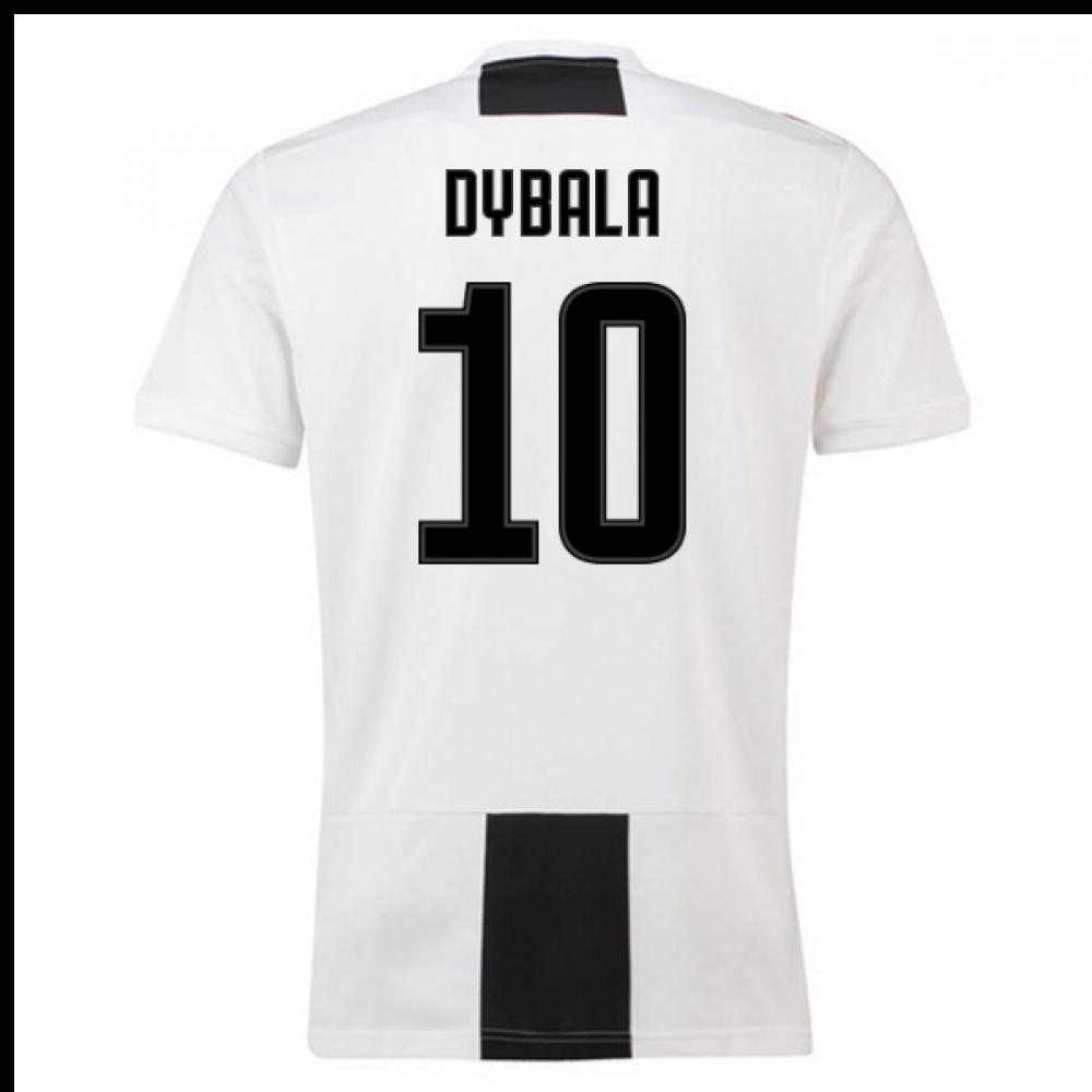 detailed look 04fd1 f438b 2018-19 Juventus Home Shirt (Dybala 10) - Kids
