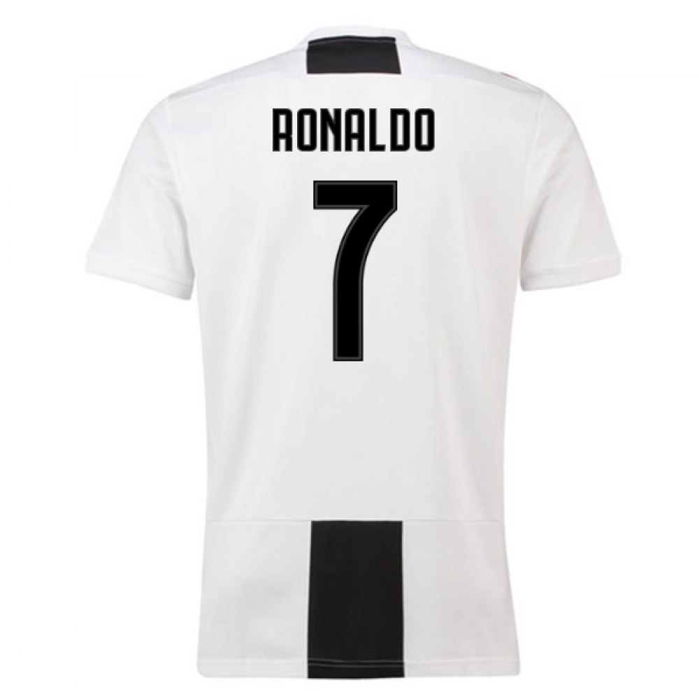 2018-19 Juventus Home Shirt (Ronaldo 7) - Kids