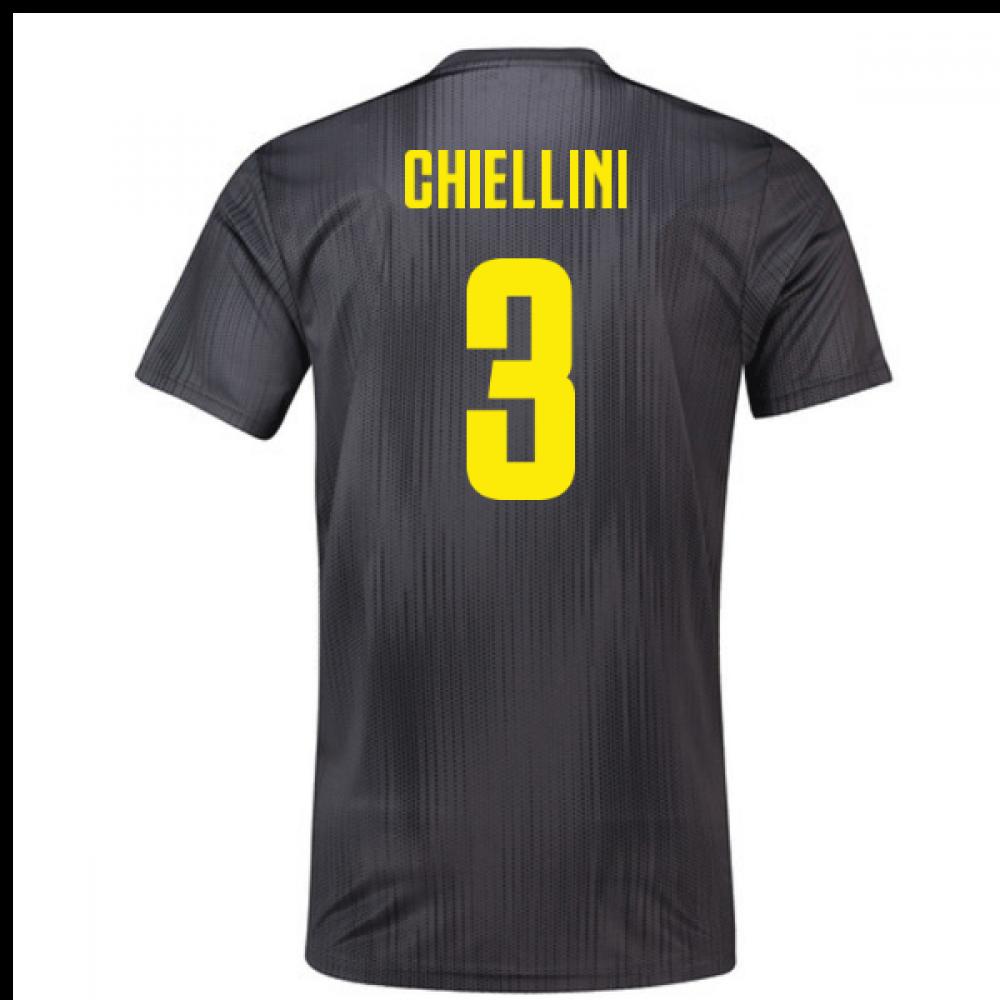 be5d5c31242 2018-19 Juventus Third Football Shirt (Chiellini 3)  DP0455-116727 ...