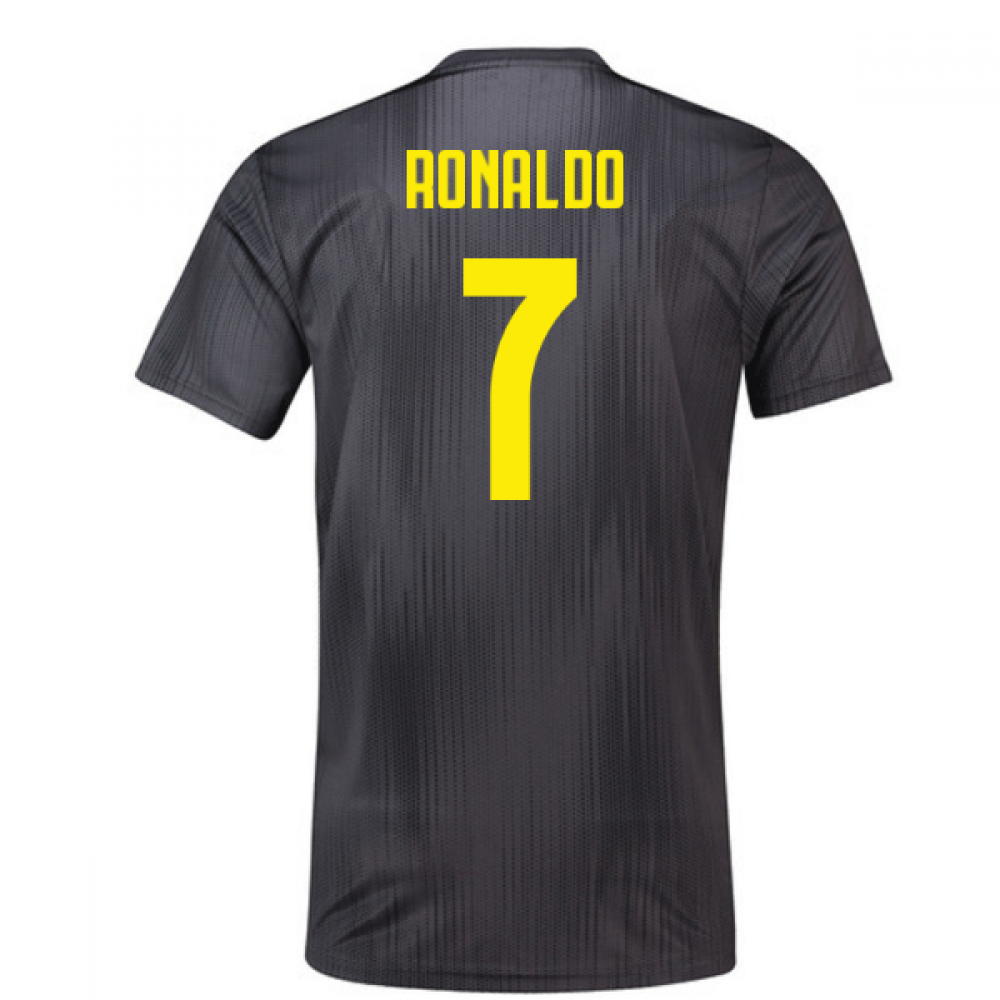 the latest a6379 b0dcf 2018-19 Juventus Third Football Shirt (Ronaldo 7)