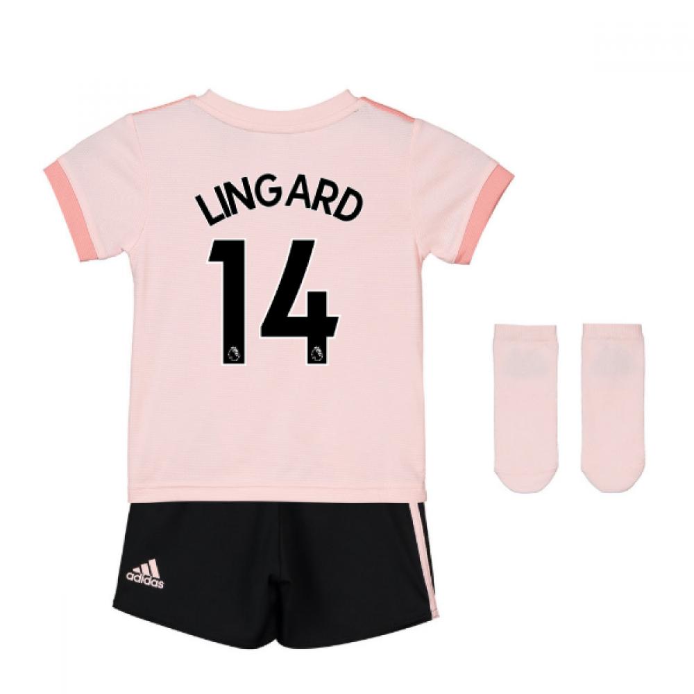 0a126d28729 2018-19 Man Utd Away Baby Kit (Lingard 14)  CG0060-126710  -  65.45 ...
