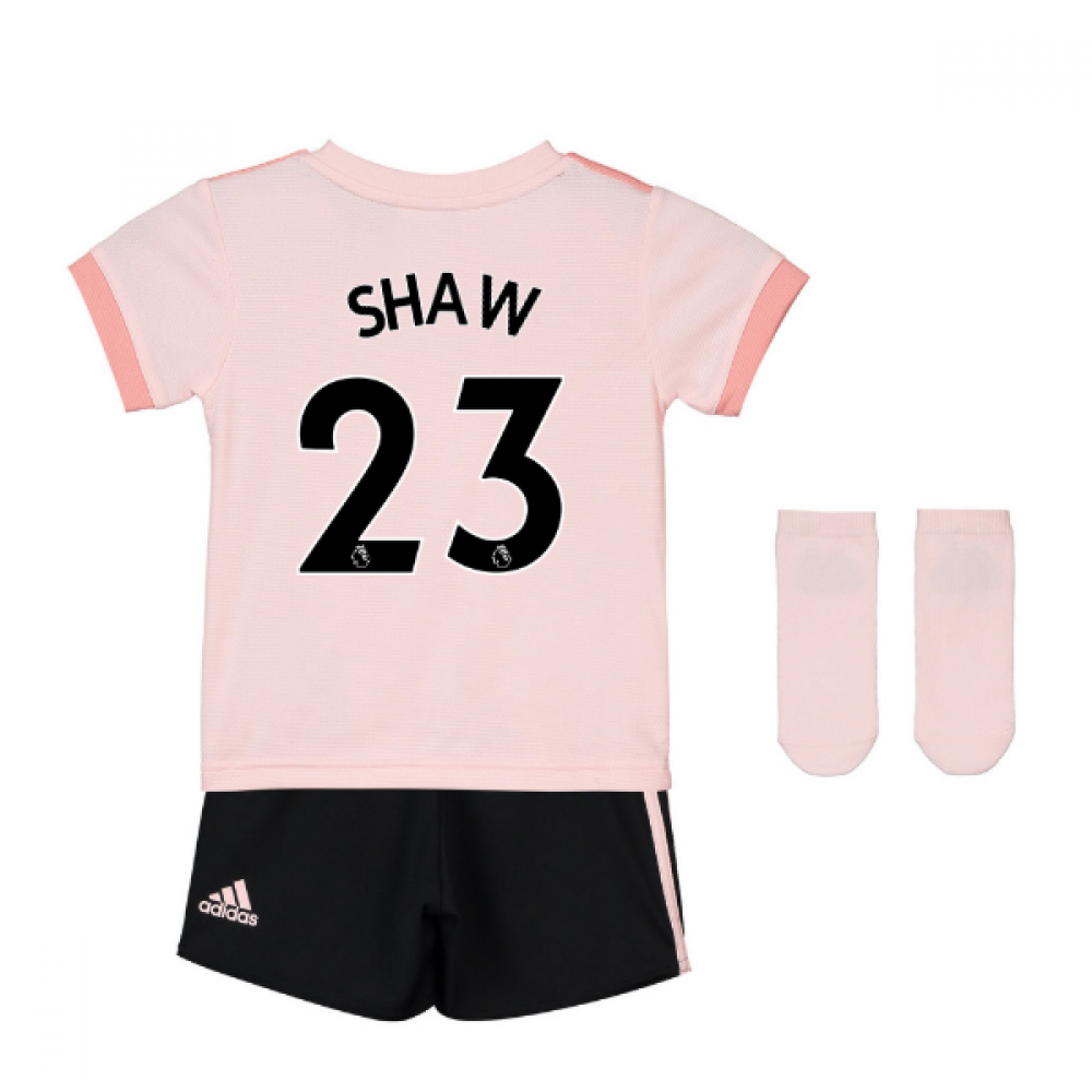 2018-19 Man Utd Away Baby Kit (Shaw 23)  CG0060-126721  -  65.84 ... 2e5570275