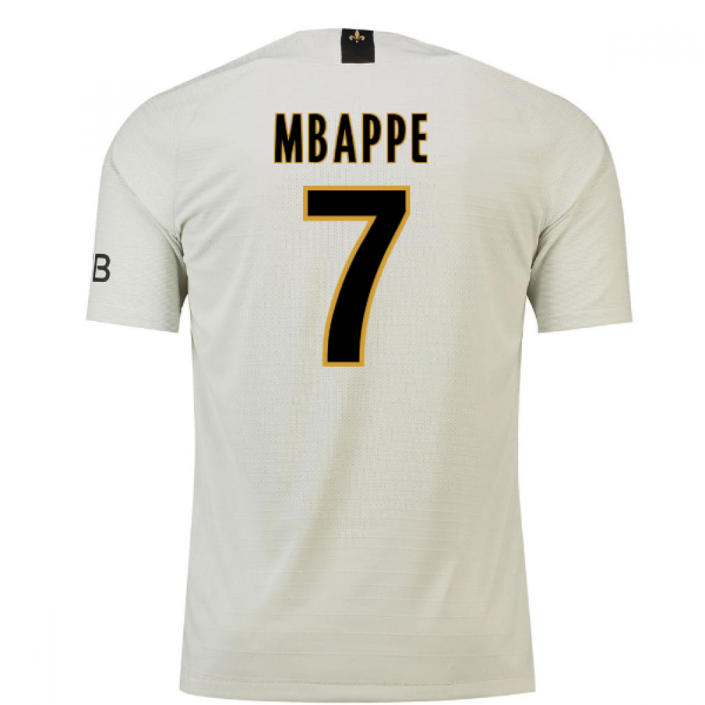 pretty nice 11e68 573aa 2018-19 Psg Away Football Shirt (Mbappe 7) - Kids