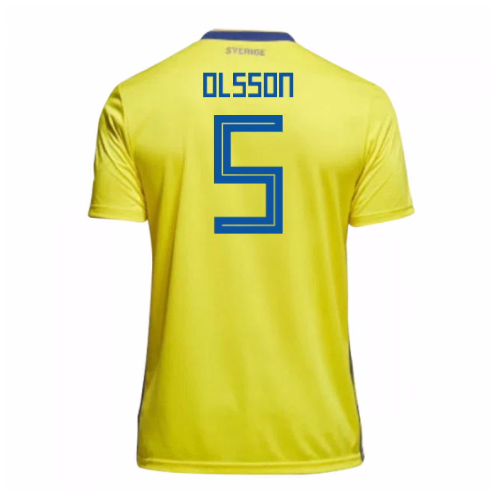 0622ddbab 2018-19 Sweden Home Shirt (Olsson 5) - Kids  BR3830-104202  -  71.86 ...