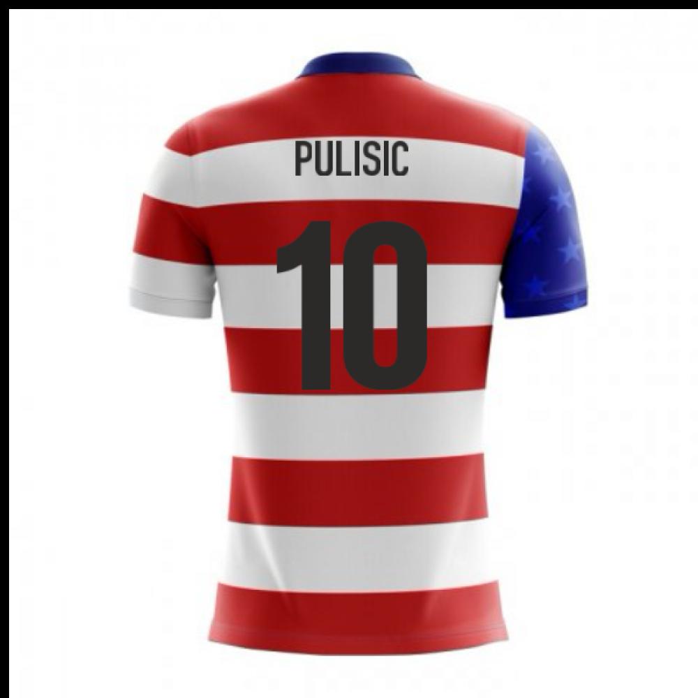 buy online 6633f febd1 2018-19 USA Airo Concept Home Shirt (Pulisic 10) - Kids