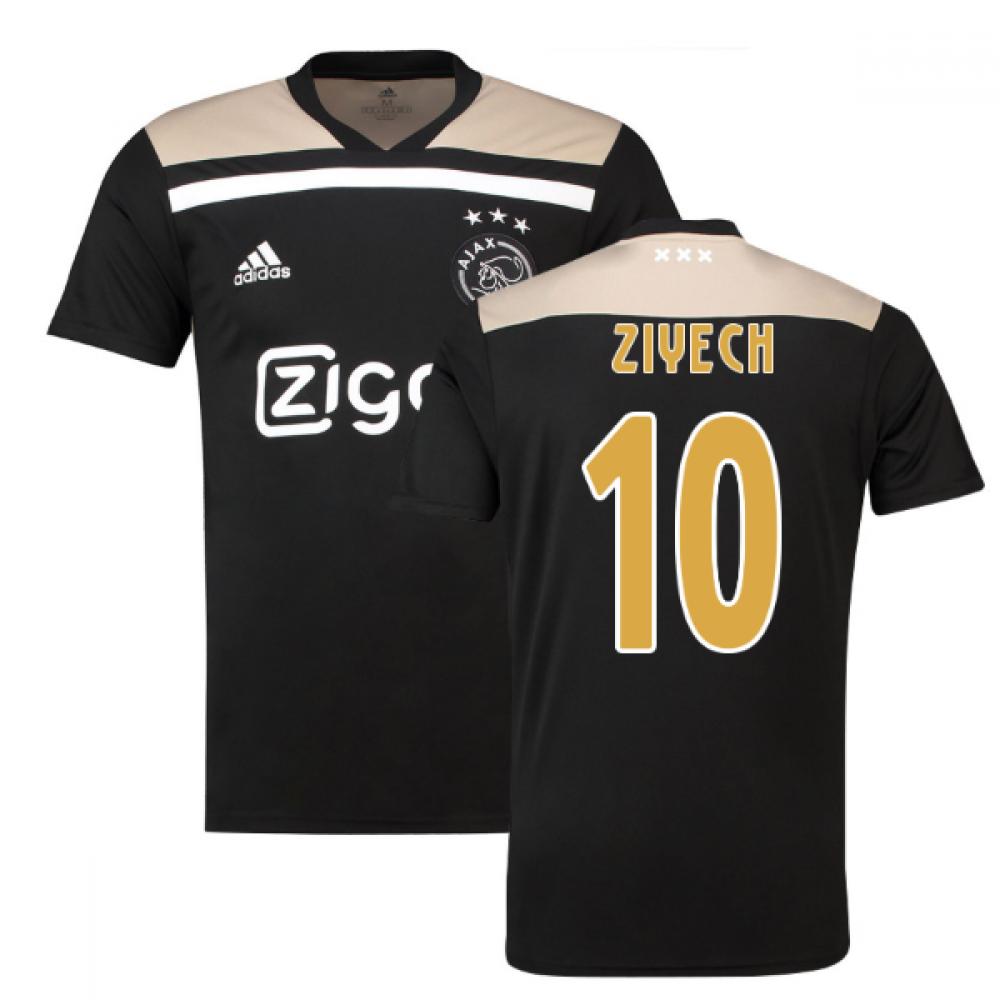 cbcdea7a93a 2018-2019 Ajax Adidas Away Football Shirt (Ziyech 10)  CF5468-125706 ...