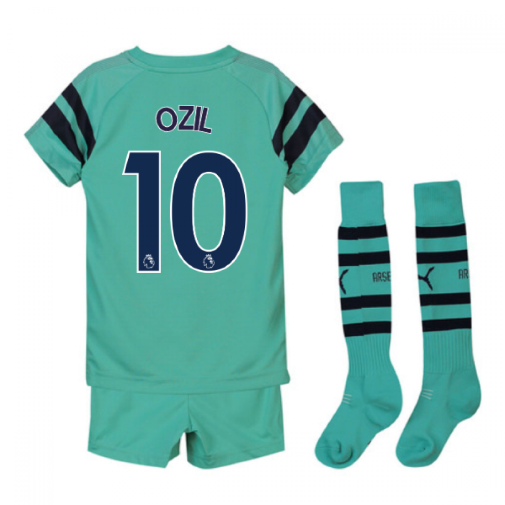 85387d605 2018-2019 Arsenal Third Little Boys Mini Kit (Ozil 10) [75322802-126295] -  $76.13 Teamzo.com