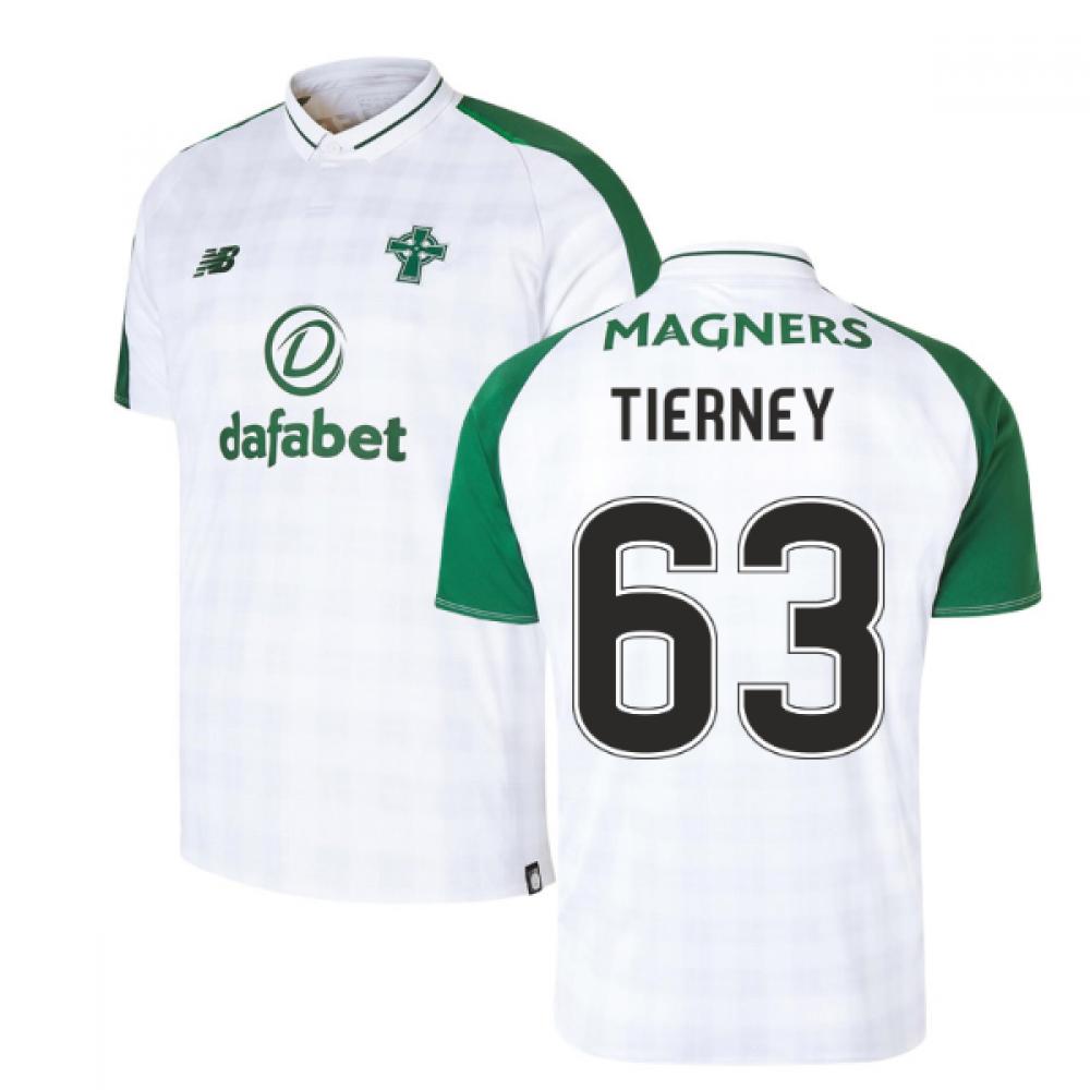 big sale a8c74 83aea 2018-2019 Celtic Away Football Shirt (Tierney 63)