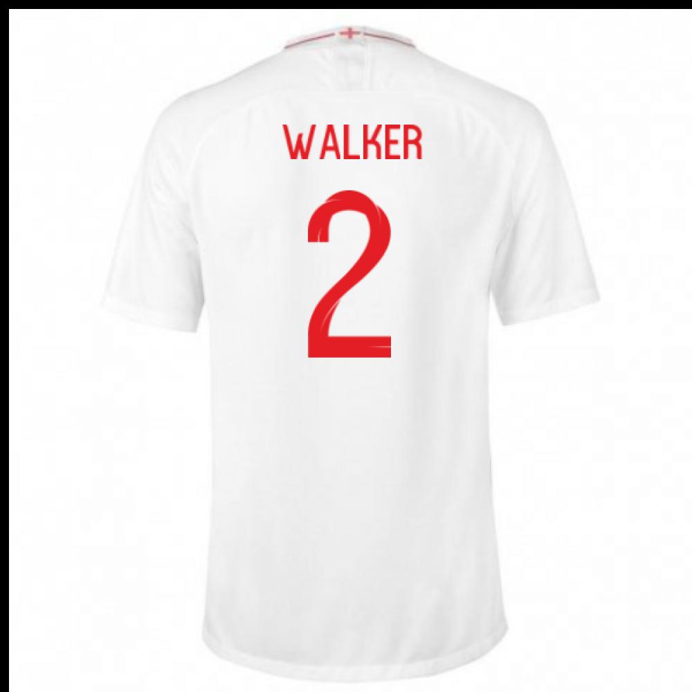 2018-2019 England Home Nike Football Shirt (Walker 2) - Kids  893983 ... 5c697609d