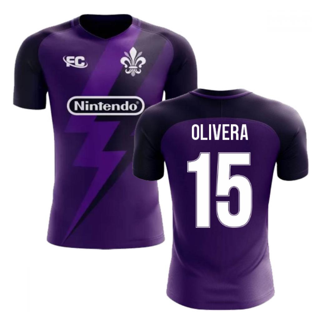 2020-2021 Fiorentina Fans Culture Home Concept Shirt (Olivera 15)