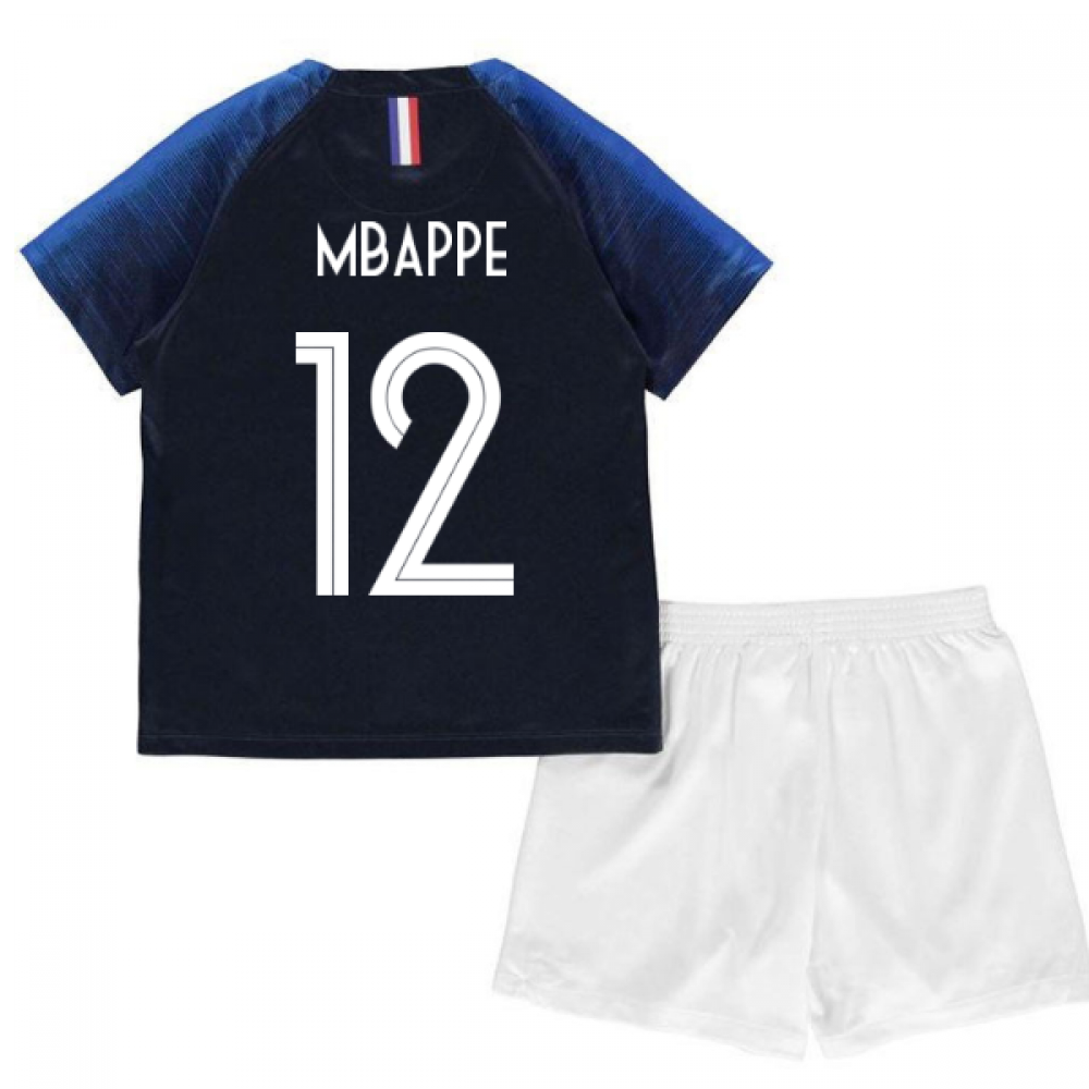 check out 4946c 34929 2018-2019 France Home Nike Baby Kit (Mbappe 12)