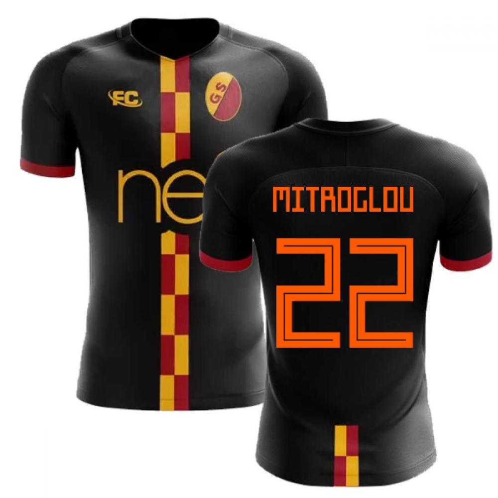 huge selection of b2a4a 3cd37 2018-2019 Galatasaray Fans Culture Away Concept Shirt (Mitroglou 22)