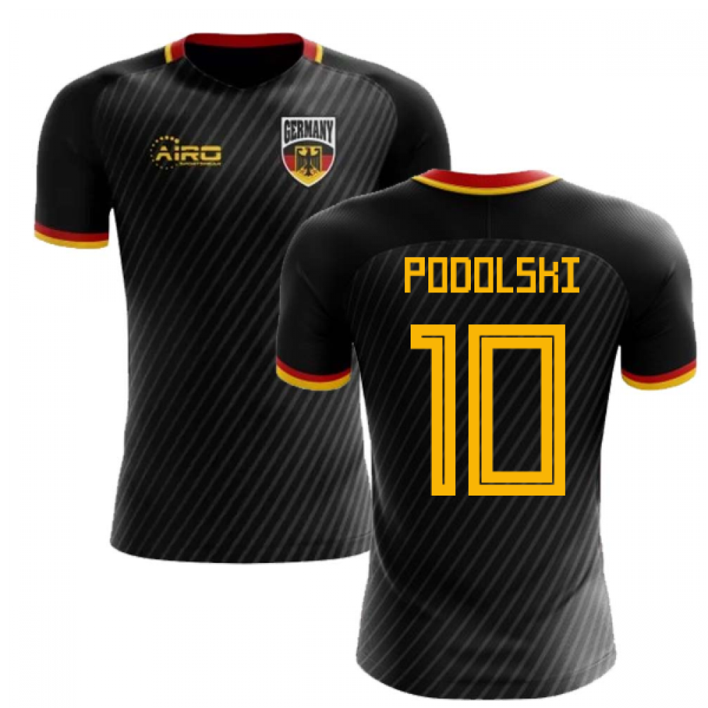 differently fd8da 4c958 2018-2019 Germany Third Concept Football Shirt (Podolski 10)
