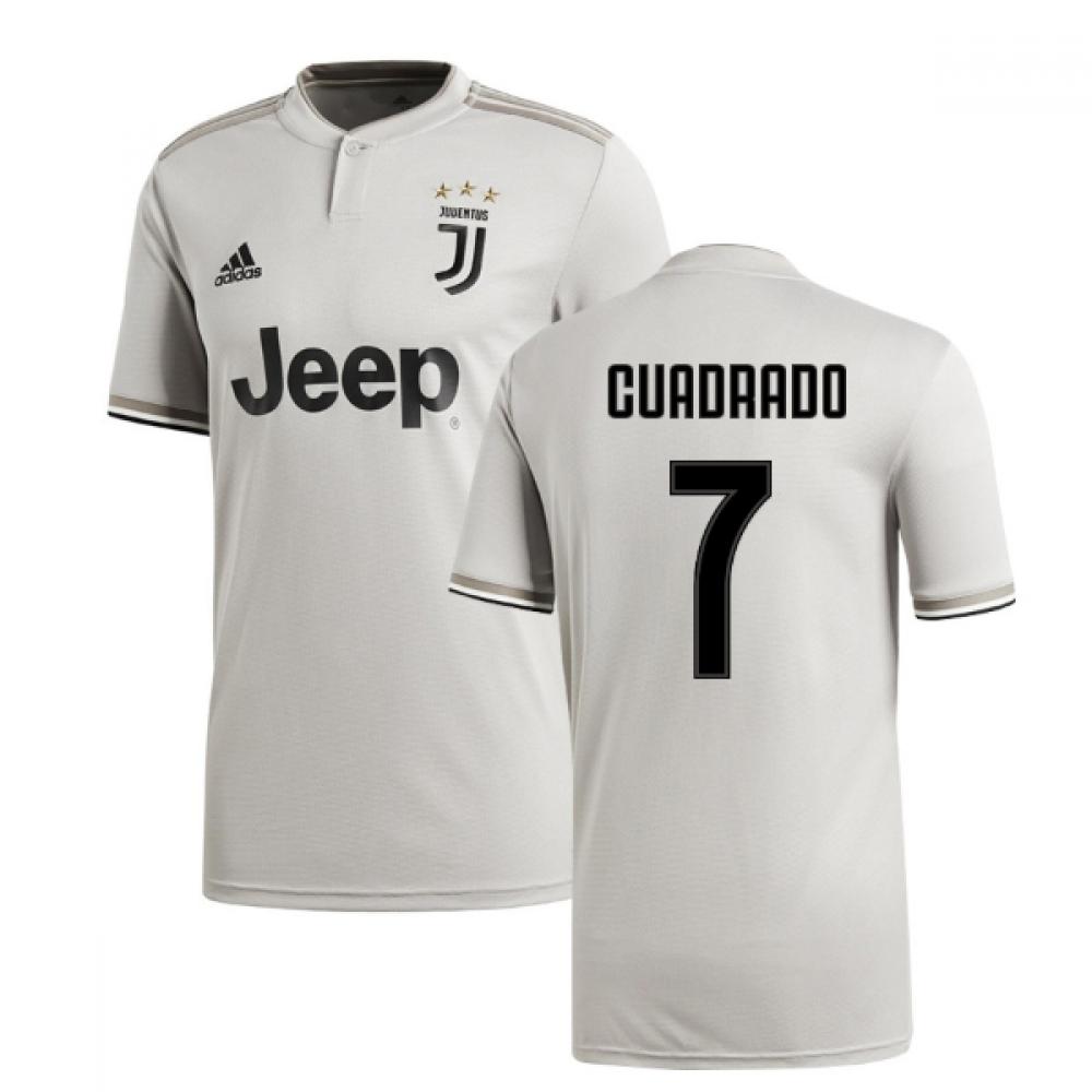 brand new 2a0ca 99ffb 2018-2019 Juventus Adidas Away Football Shirt (Cuadrado 7)