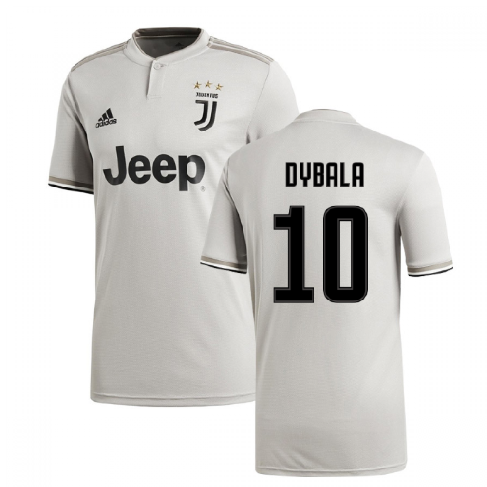 new photos 6ce25 331af 2018-2019 Juventus Adidas Away Football Shirt (Dybala 10)