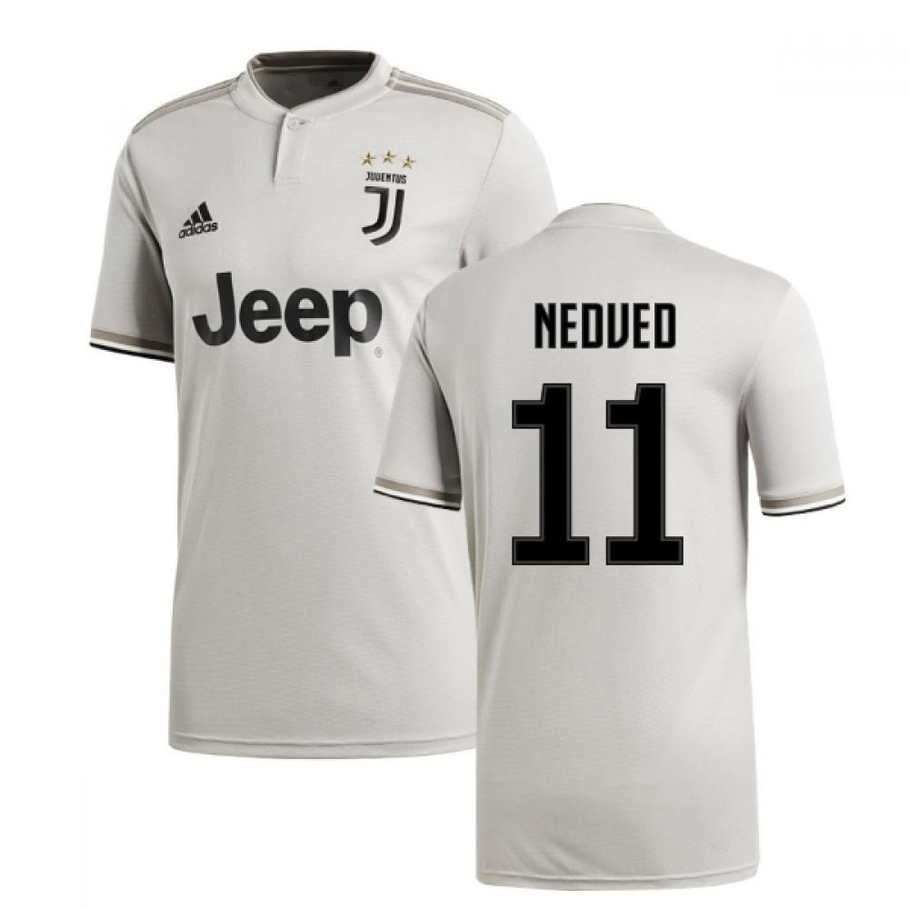 d0502d0c0 2018-2019 Juventus Adidas Away Football Shirt (Nedved 11)  CF3488 ...