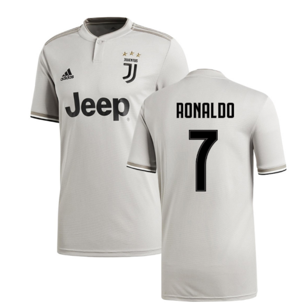 huge selection of af7b1 b048f 2018-2019 Juventus Adidas Away Football Shirt (Ronaldo 7)