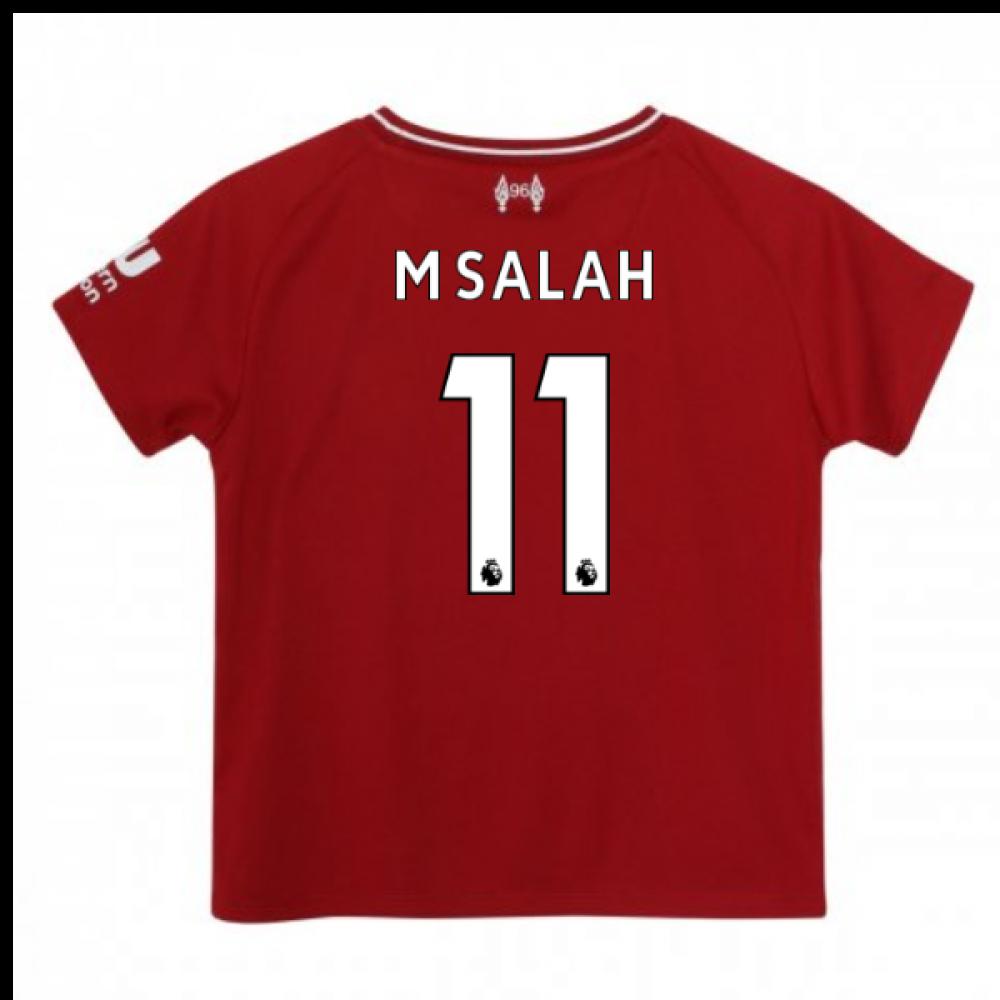 huge selection of 41673 f26c1 2018-2019 Liverpool Home Baby Kit (M Salah 11)