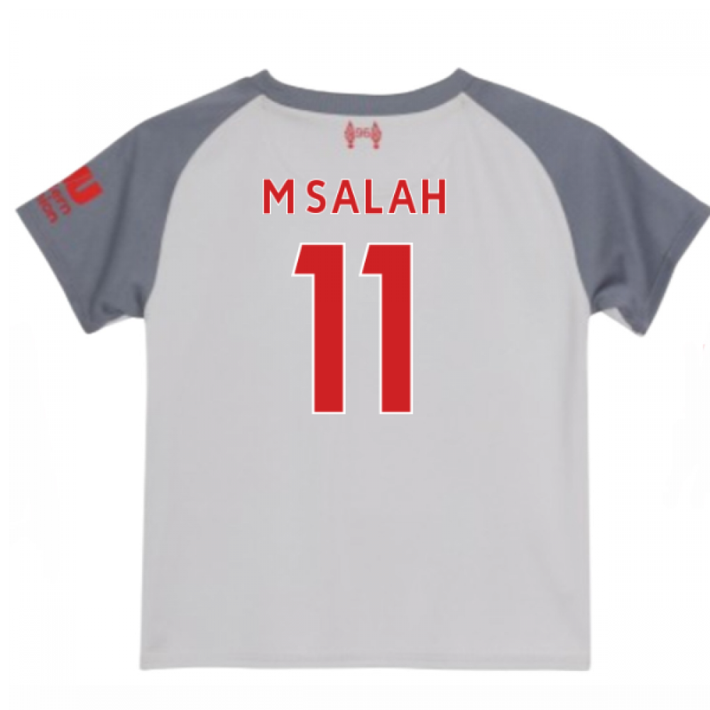 huge discount c5a0f 7421e 2018-2019 Liverpool Third Baby Kit (M Salah 11)