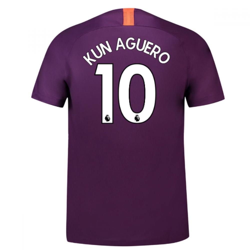 20182019 man city third nike football shirt kun aguero