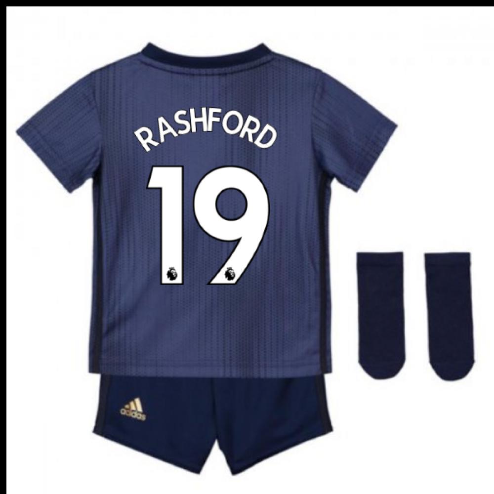 eb79e9bc 2018-2019 Man Utd Adidas Third Baby Kit (Rashford 19) [DP6019-113497] -  $65.98 Teamzo.com