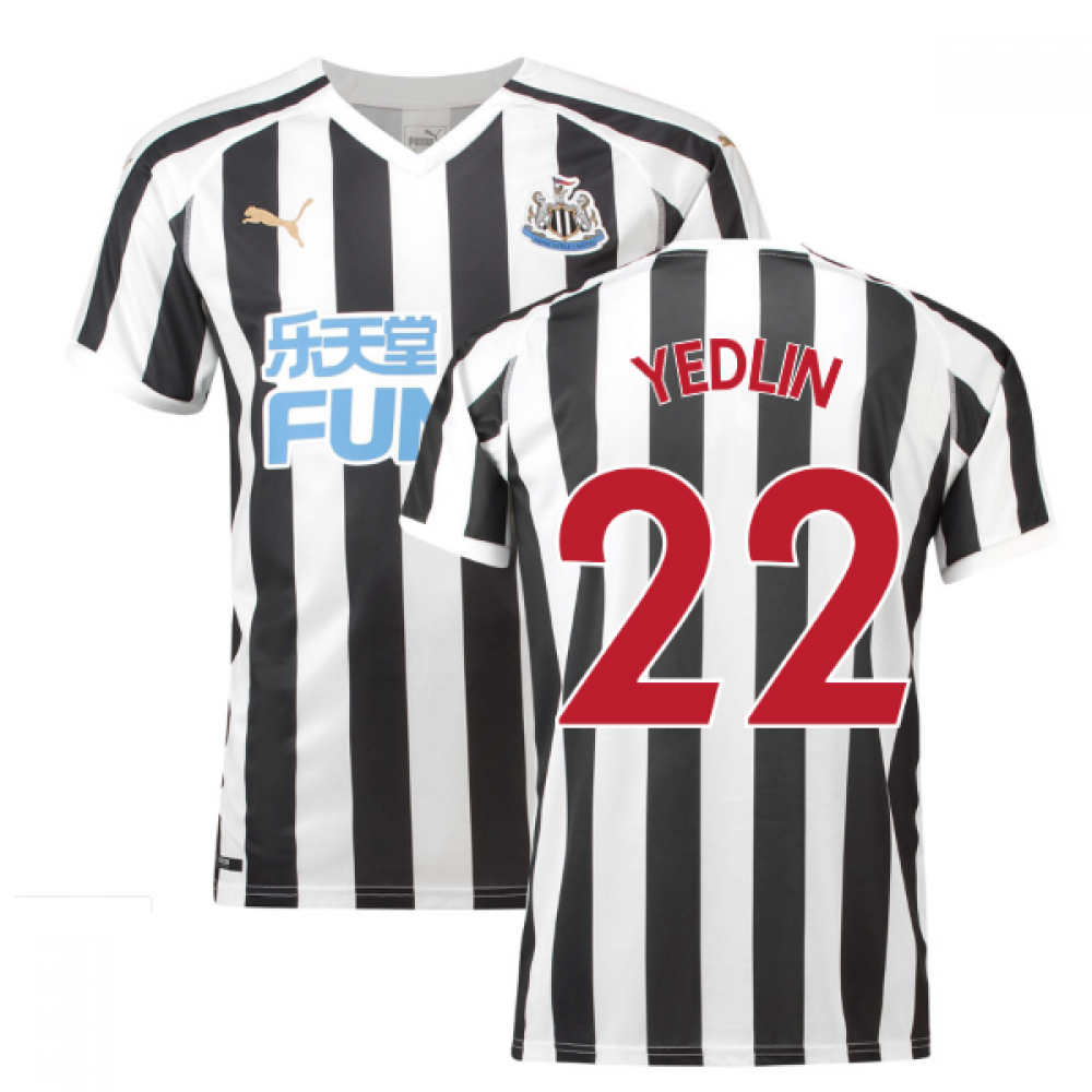 2018-2019 Newcastle Home Football Shirt (Yedlin 22)  75380201-125401 ... 5fc9436e9d754