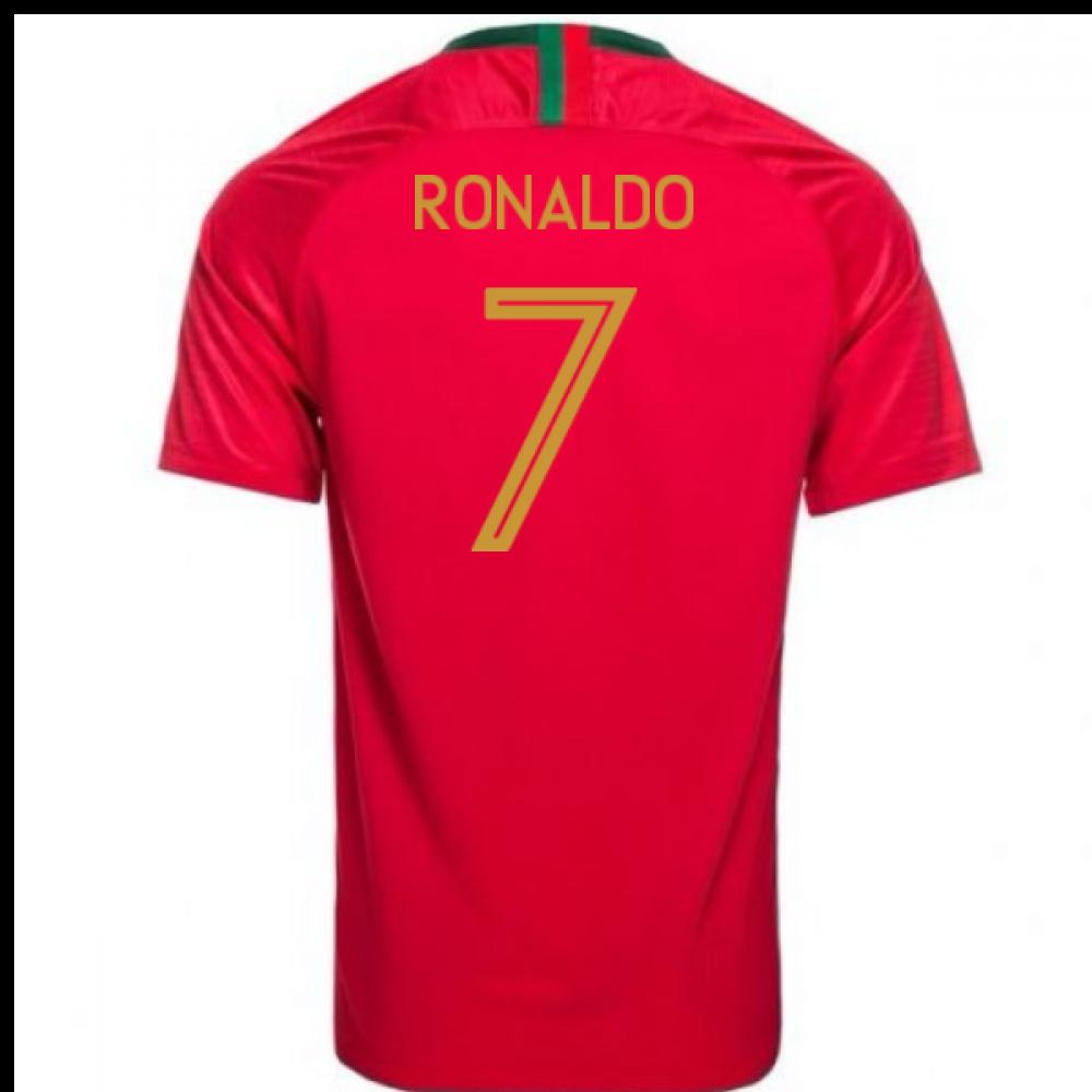 2018-2019 Portugal Home Nike Football Shirt (Ronaldo 7) - Kids ... 89dbd7d7a
