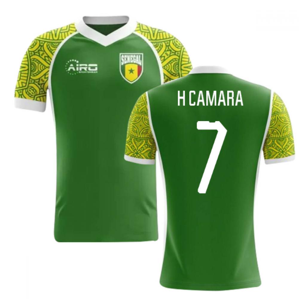 2020-2021 Senegal Away Concept Football Shirt (H Camara 7)