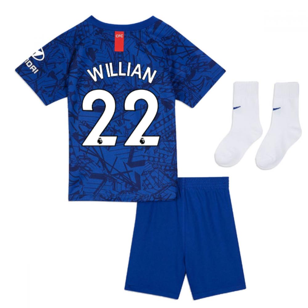 2cff44845 2019-20 Chelsea Home Baby Kit (Willian 22) [AO3070-495-138426] - $63.44  Teamzo.com