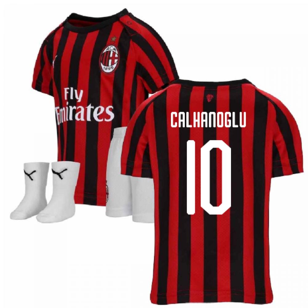 online store 953fb b3564 2019-2020 AC Milan Puma Home Baby Kit (CALHANOGLU 10)