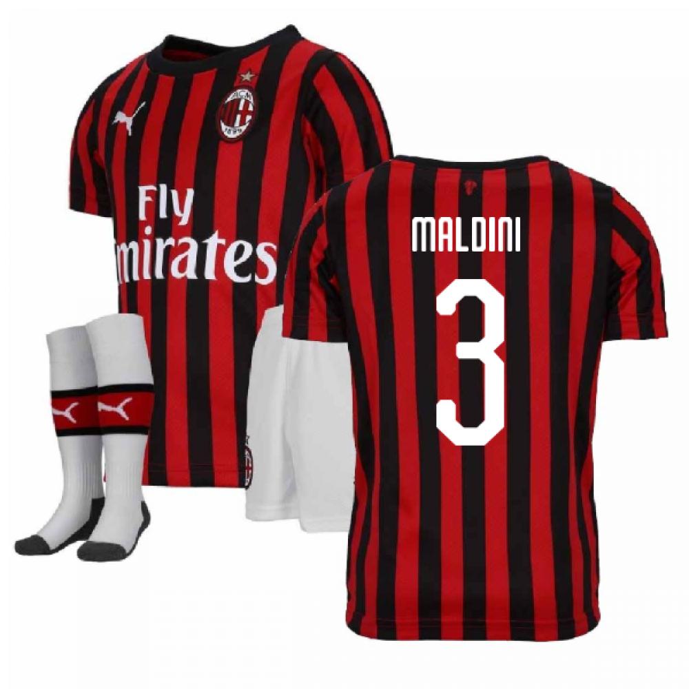 Puma 2018-2019 AC Milan Third Mini Kit