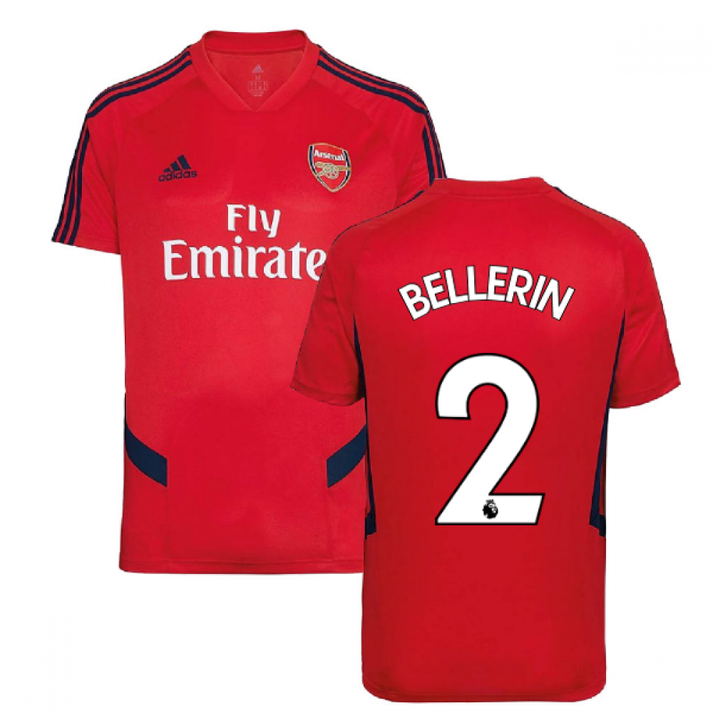 super popular f6d54 b2a3b 2019-2020 Arsenal Adidas Training Shirt (Red) (Bellerin 2)