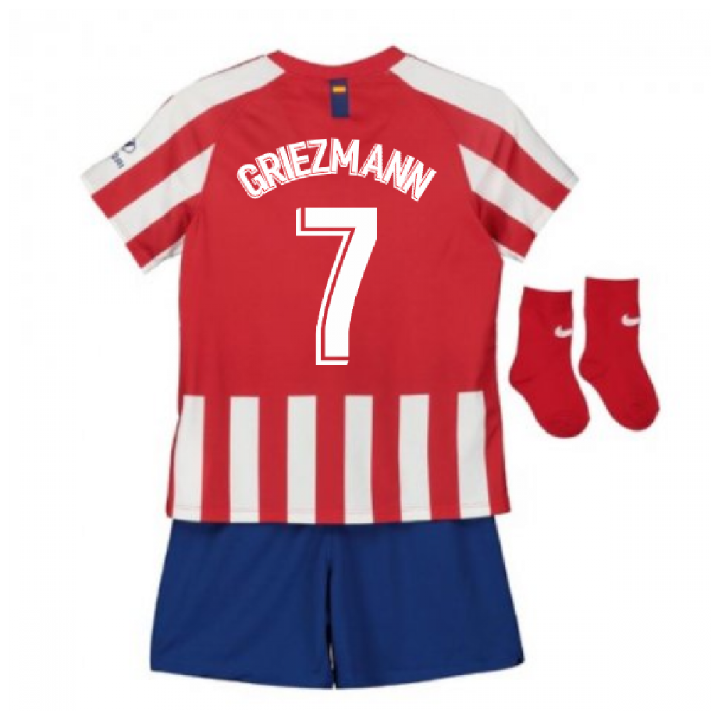 release date: 8be60 b9e75 2019-2020 Atletico Madrid Home Nike Baby Kit (GRIEZMANN 7)