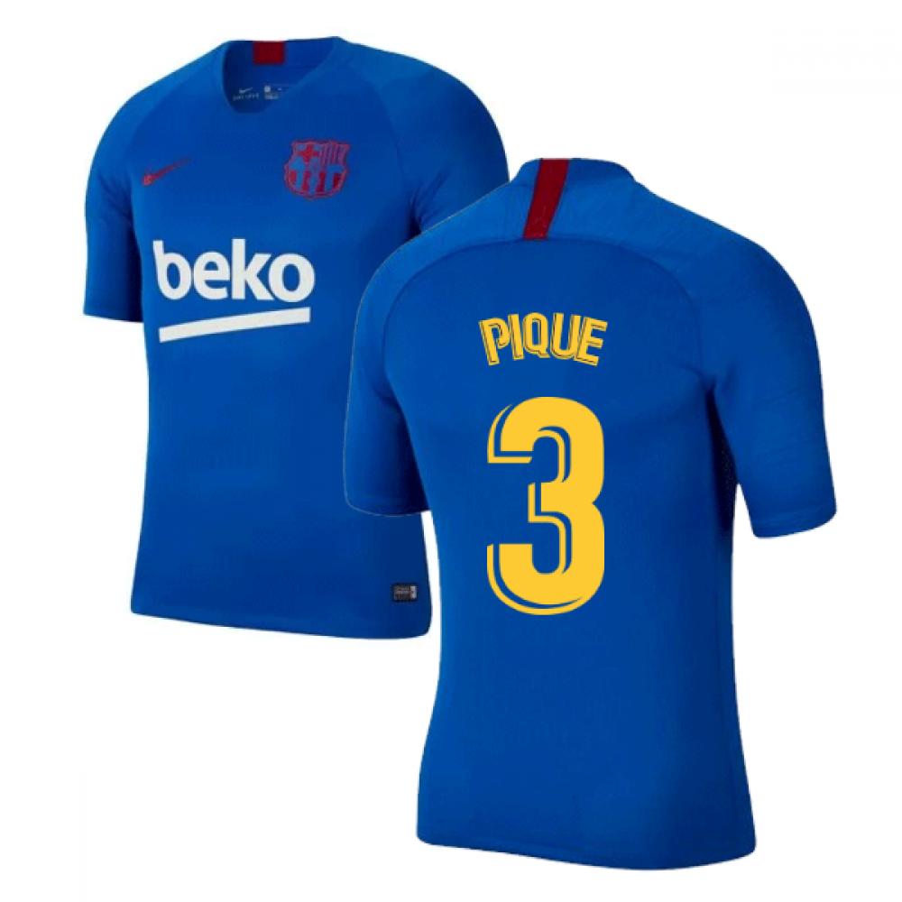 size 40 7bf55 2ecad 2019-2020 Barcelona Nike Training Shirt (Blue) (PIQUE 3)