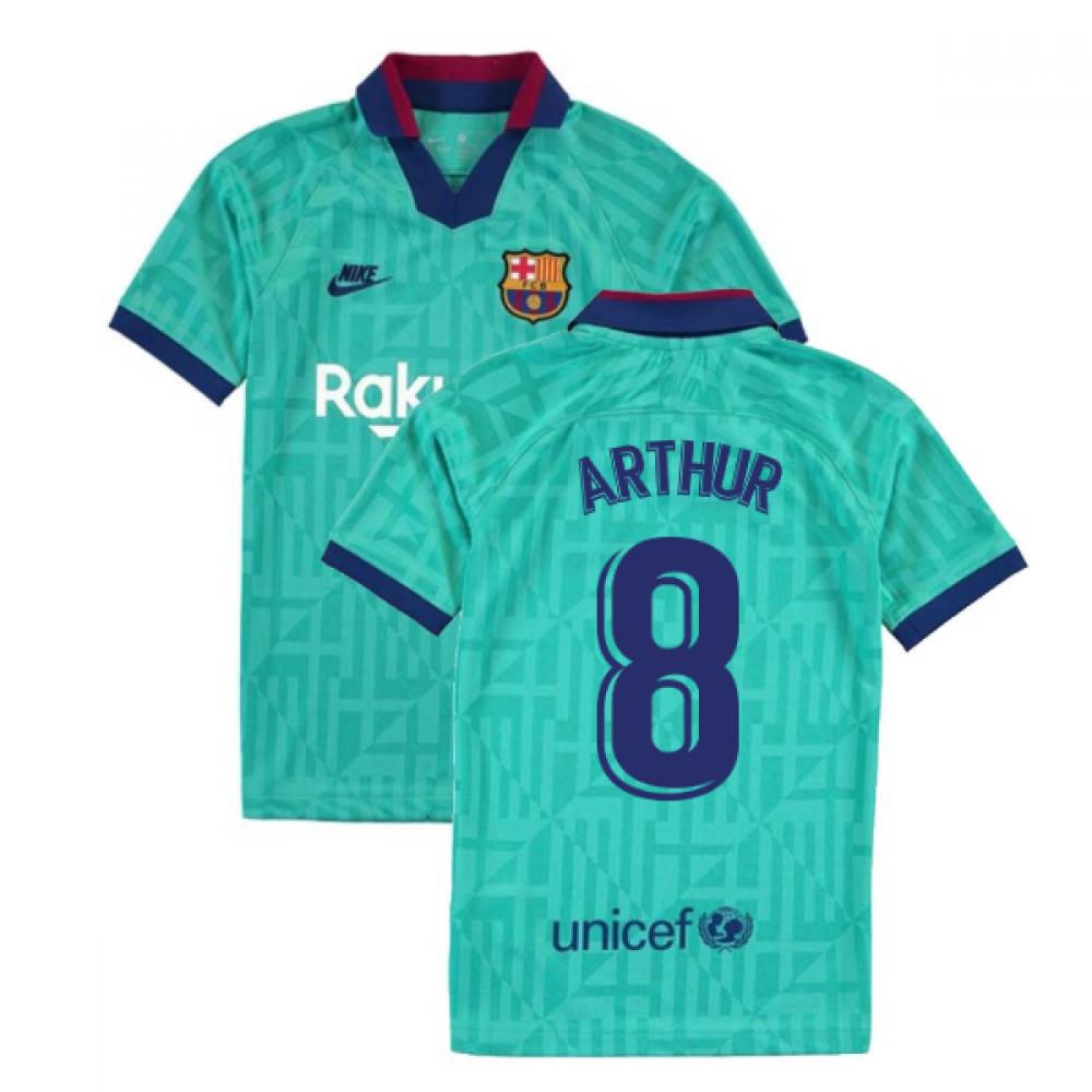 2019-2020 Barcelona Third Nike Shirt (Kids) (ARTHUR 8)