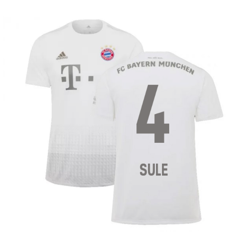 best website 82989 f7878 2019-2020 Bayern Munich Adidas Away Football Shirt (SULE 4)