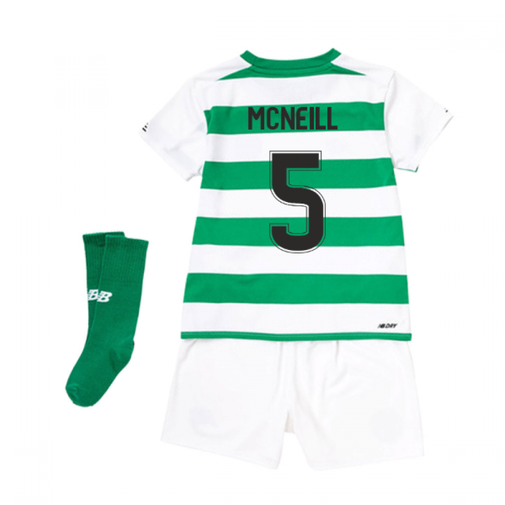 separation shoes 45eb9 c9ad9 2019-2020 Celtic Home Little Boys Mini Kit (McNeill 5)