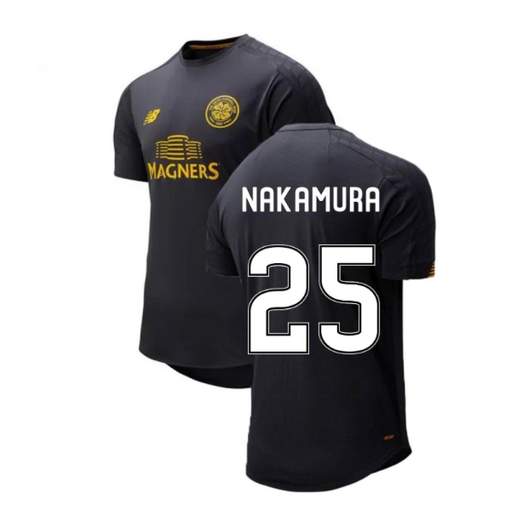 the best attitude 79e41 f7ea2 2019-2020 Celtic On Pitch Training Jersey (Phantom) (Nakamura 25)