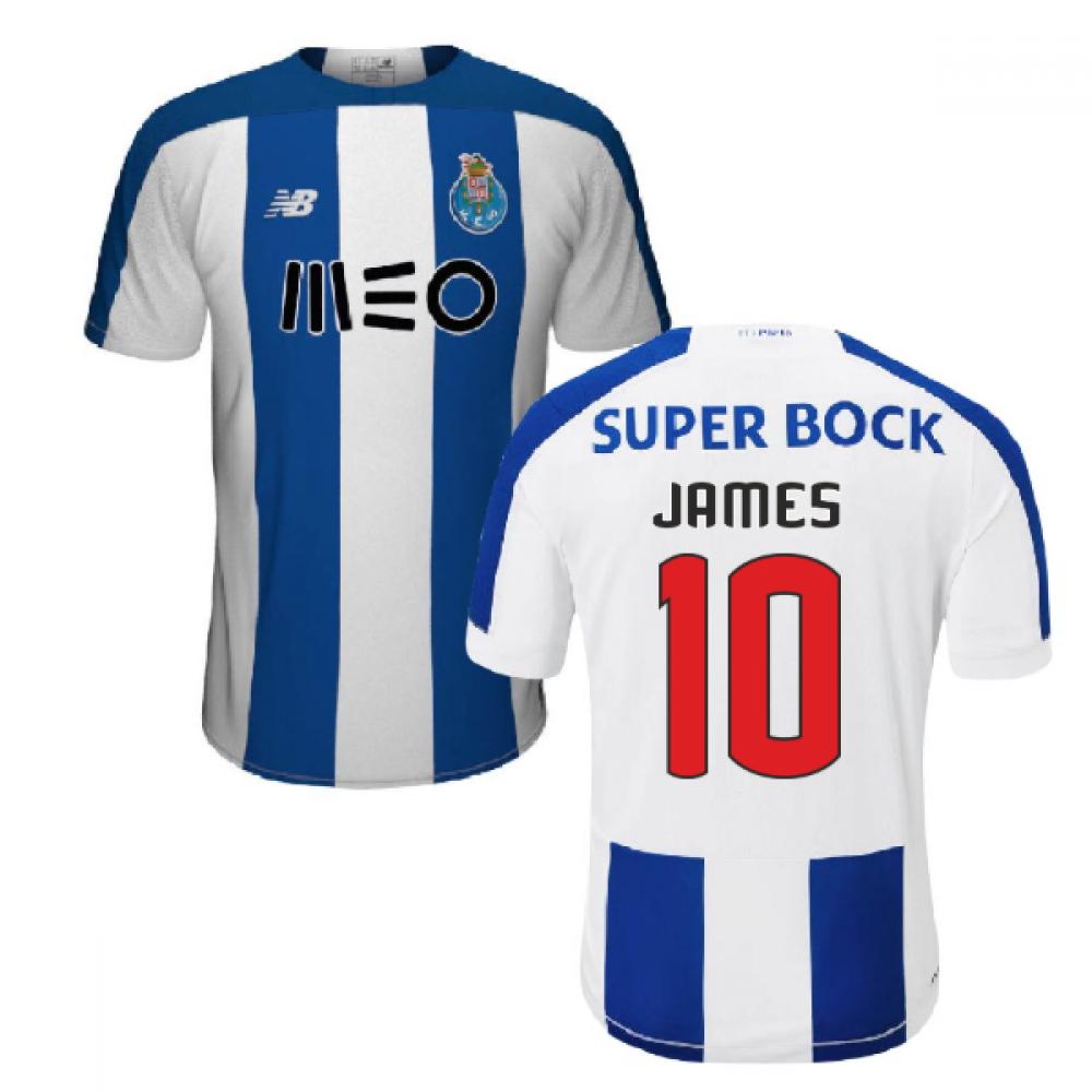 2019 2020 Fc Porto Home Football Shirt James 10 Mt930134 149121 99 64 Teamzo Com