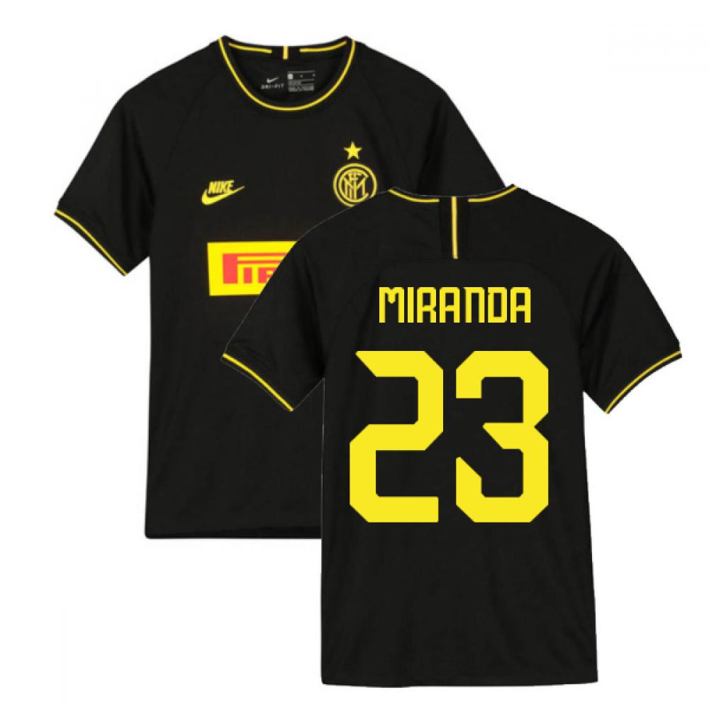 2019-2020 Inter Milan 3rd Nike Football Shirt (Kids) (MIRANDA 23)