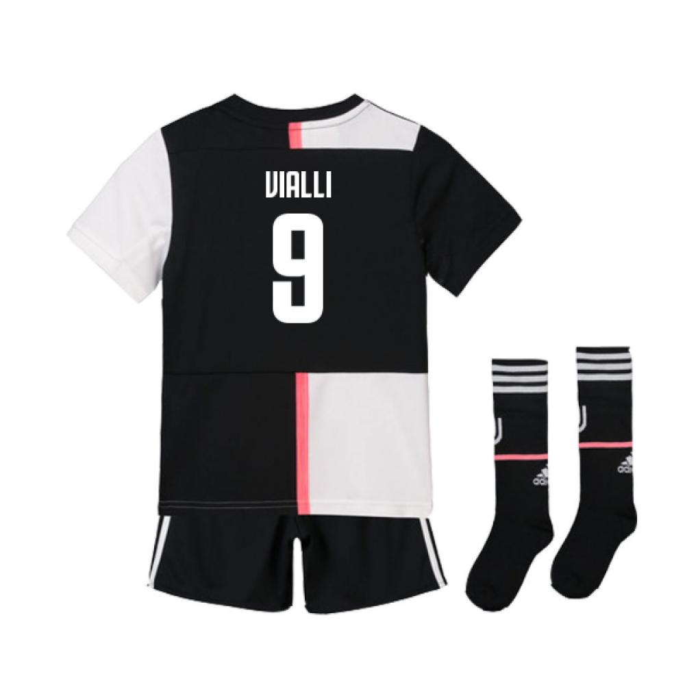 promo code c5907 b5681 2019-2020 Juventus Adidas Home Mini Kit (Vialli 9)